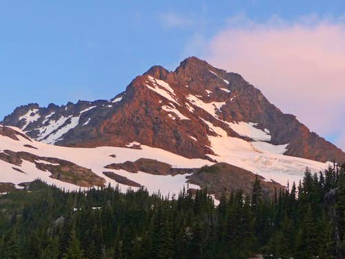 Alpenglow on Jack Mountain