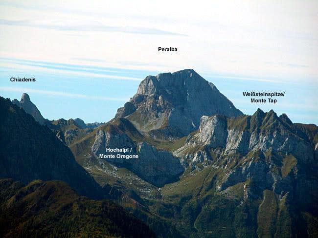 Summit view Lumkofel -...
