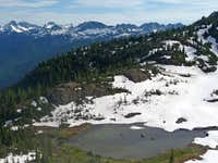 Looking toward Crater Lake