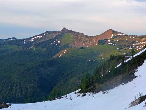 Jackita Ridge during Evening