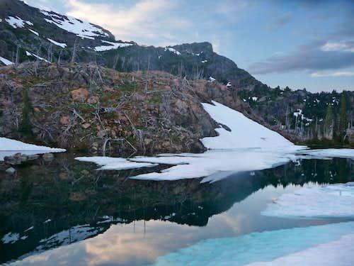 Jerry Lake Reflection