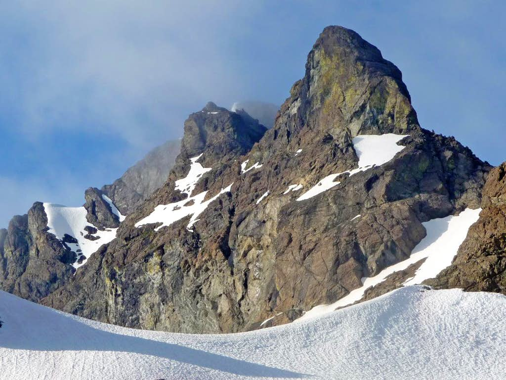 Crater Mountain's Summit