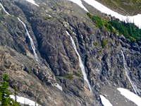 Waterfalls on Jack Mountain