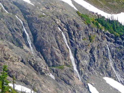 Waterfalls on Jack Mountain