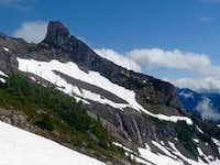 Point 7292 on Jack Mountain