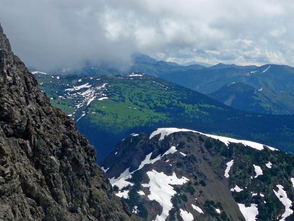 Jackita Ridge Below