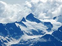 Pyrimid Peak with Clouds