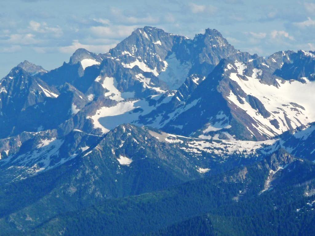 Black Peak to the South