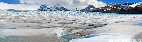 Endless icefield...