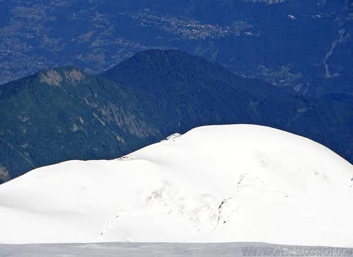 Dome du Gouter summit view