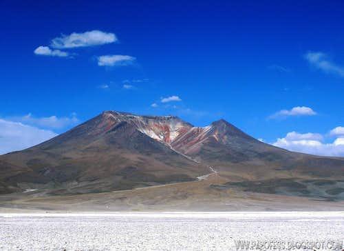 Caquella volcano