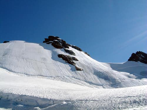 Eastern Breithorn and Punta 4106