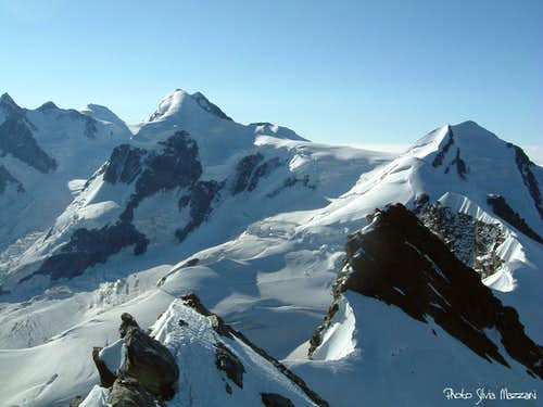 Panorama from Eastern Breithorn