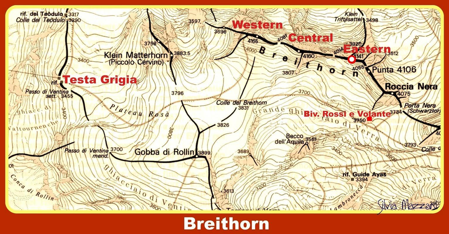 Breithorn карта