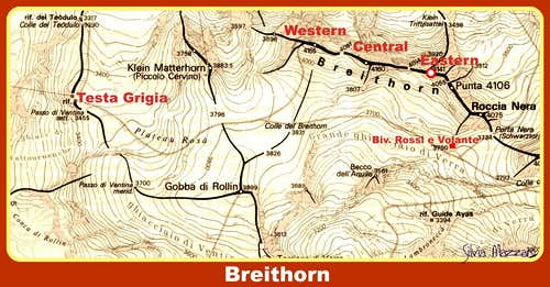 Breithorn map