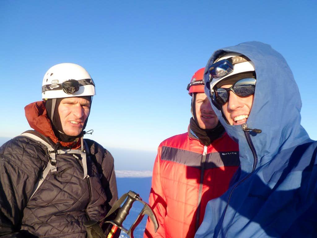 Dry run at summit
