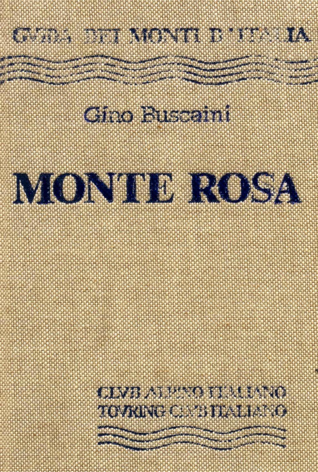 Monte Rosa guidebook