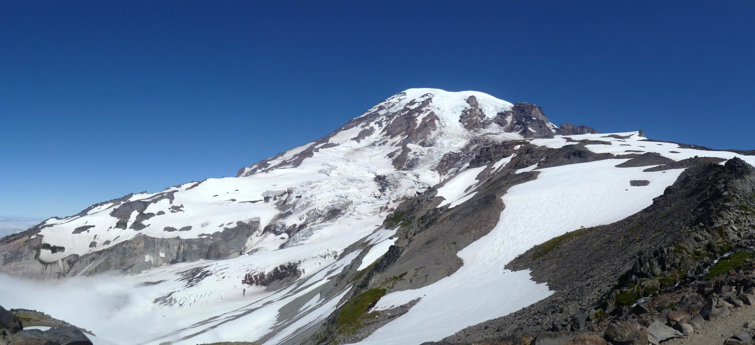 Climbing Mount Rainier in less than a day... from sea level