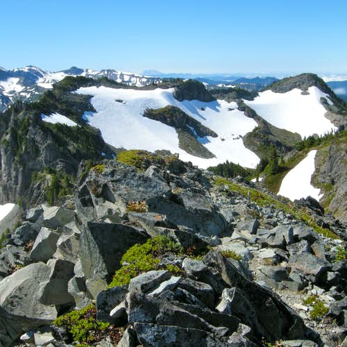 Fay Peak from First Mother