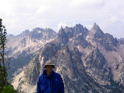 View of the Verita ridge from...