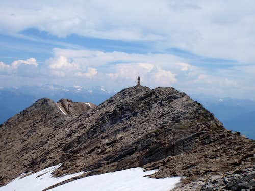 Nearing summit - Mt. Aeneas