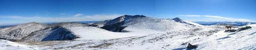 The Mount Evans Massif ....