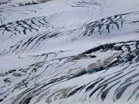 Lower Emmons Glacier crevasses