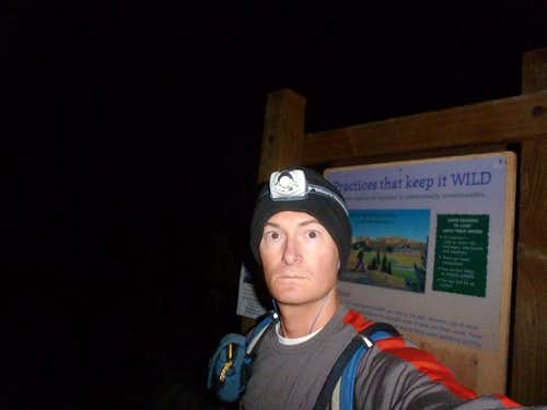 CA 14er record by Sean