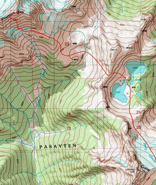 Jack Mountain Topographic Map