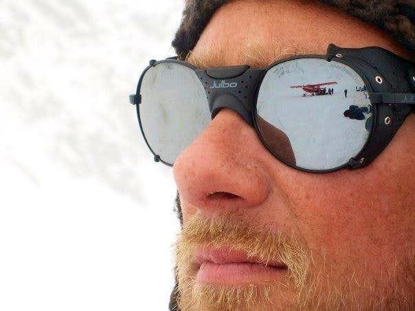 Ed Hardy France Lunettes de soleil Brad Tatoo brun,