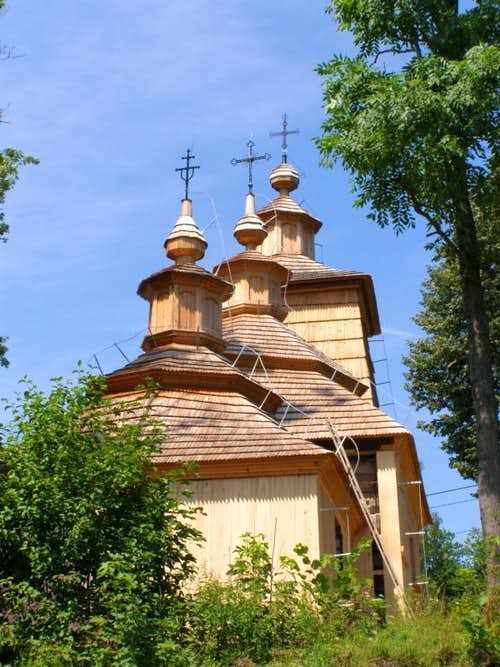 The Greek Orthodox Church in the village of Bałucianka