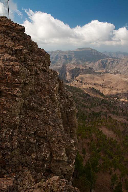 Summit view towards Montaña de Tauro