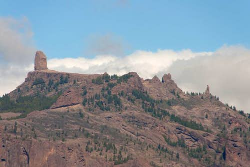 Roque Nublo Close-up