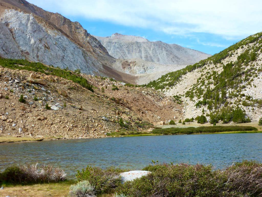 Mount Morgan South from Francis Lake