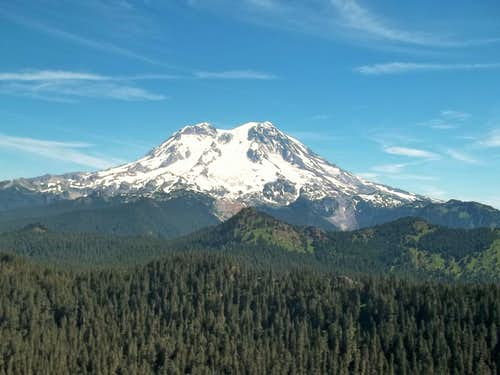 Mount Rainier from Mount Beljica