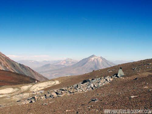 Paniri volcano: 5.946m