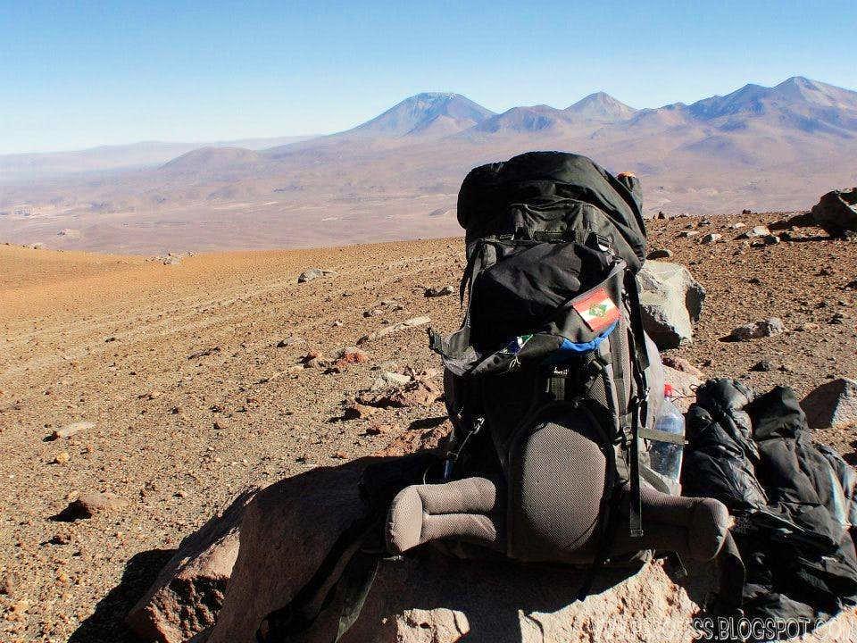 A little rest at 4.900m high