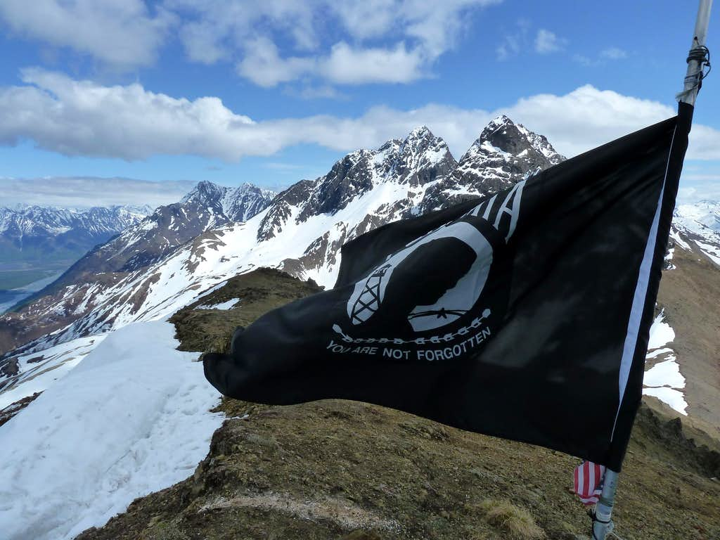 Flag on Summit