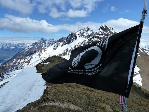Flag on Summit