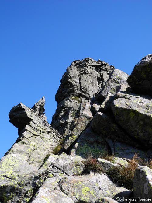 Crazy rocks on Monte Scala