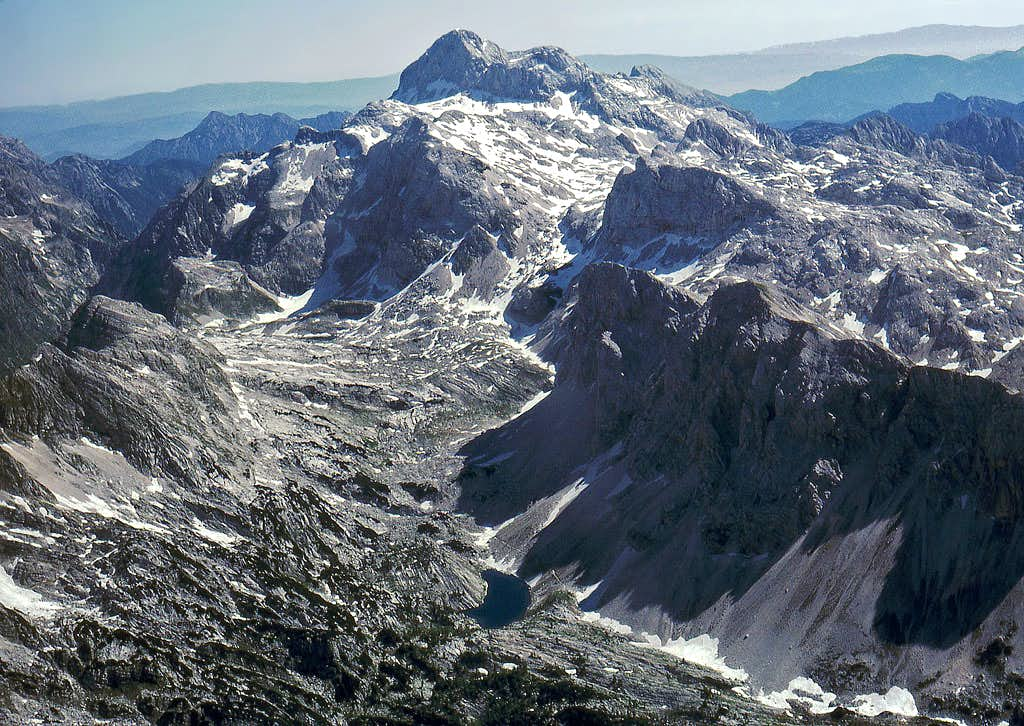 The upper part of the Valley of Triglav Lakes