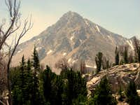 Peak 11,272 from Sapphire Lake