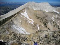 Peak 11,272 NW Ridgeline to DO Lee & WCP-9