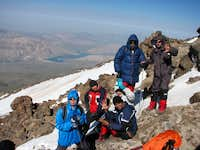 In 5000  metr in Damavand