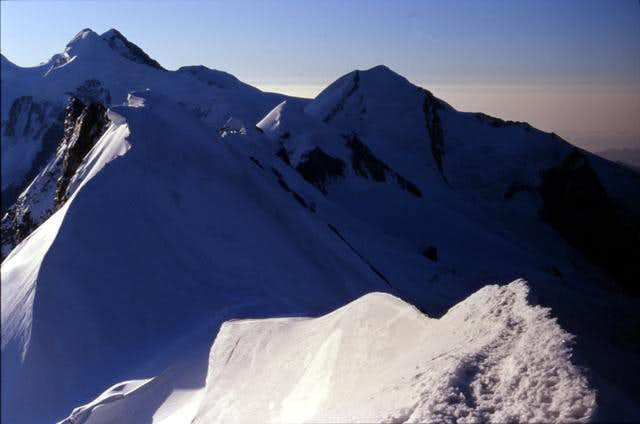 View from West Breithorn top....