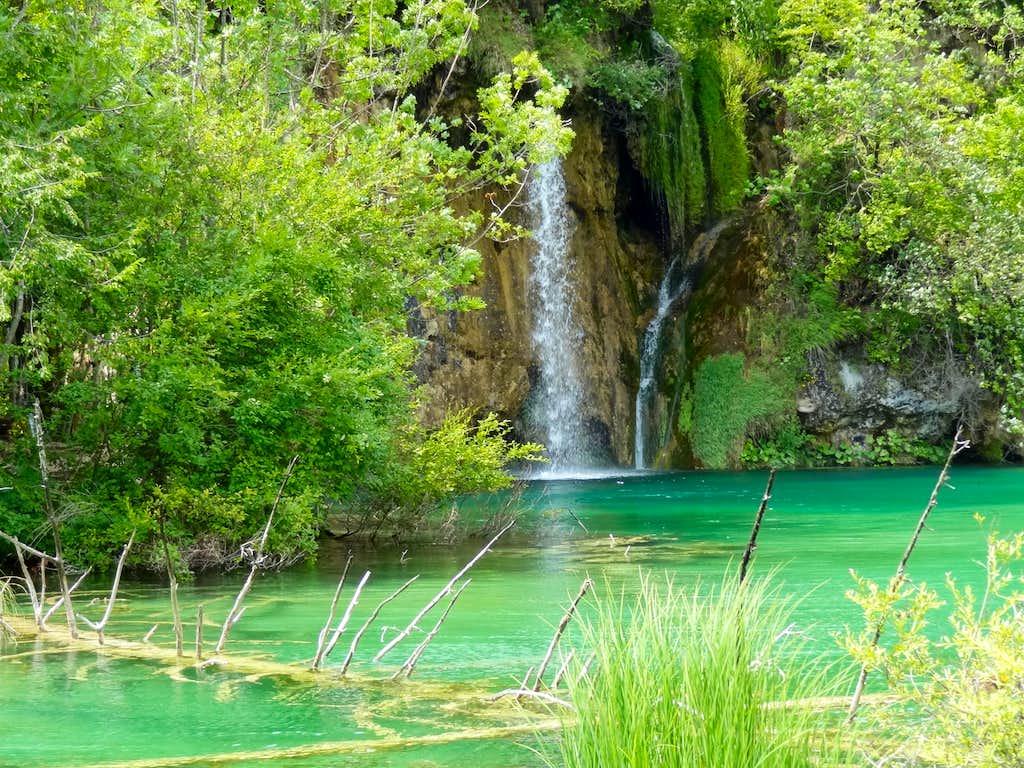 Pond under Gradinsko lake