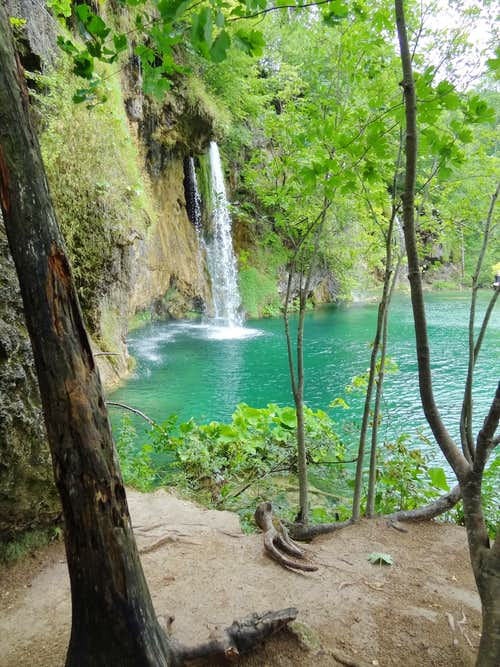 A cold Plitvice in July