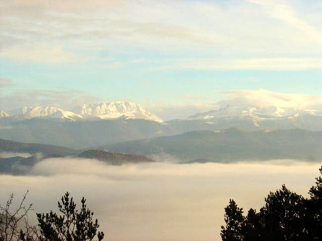 View of second 2000 meters of...