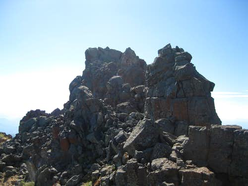 The summit of Tower 2