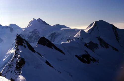 View from Breithorn Cen....